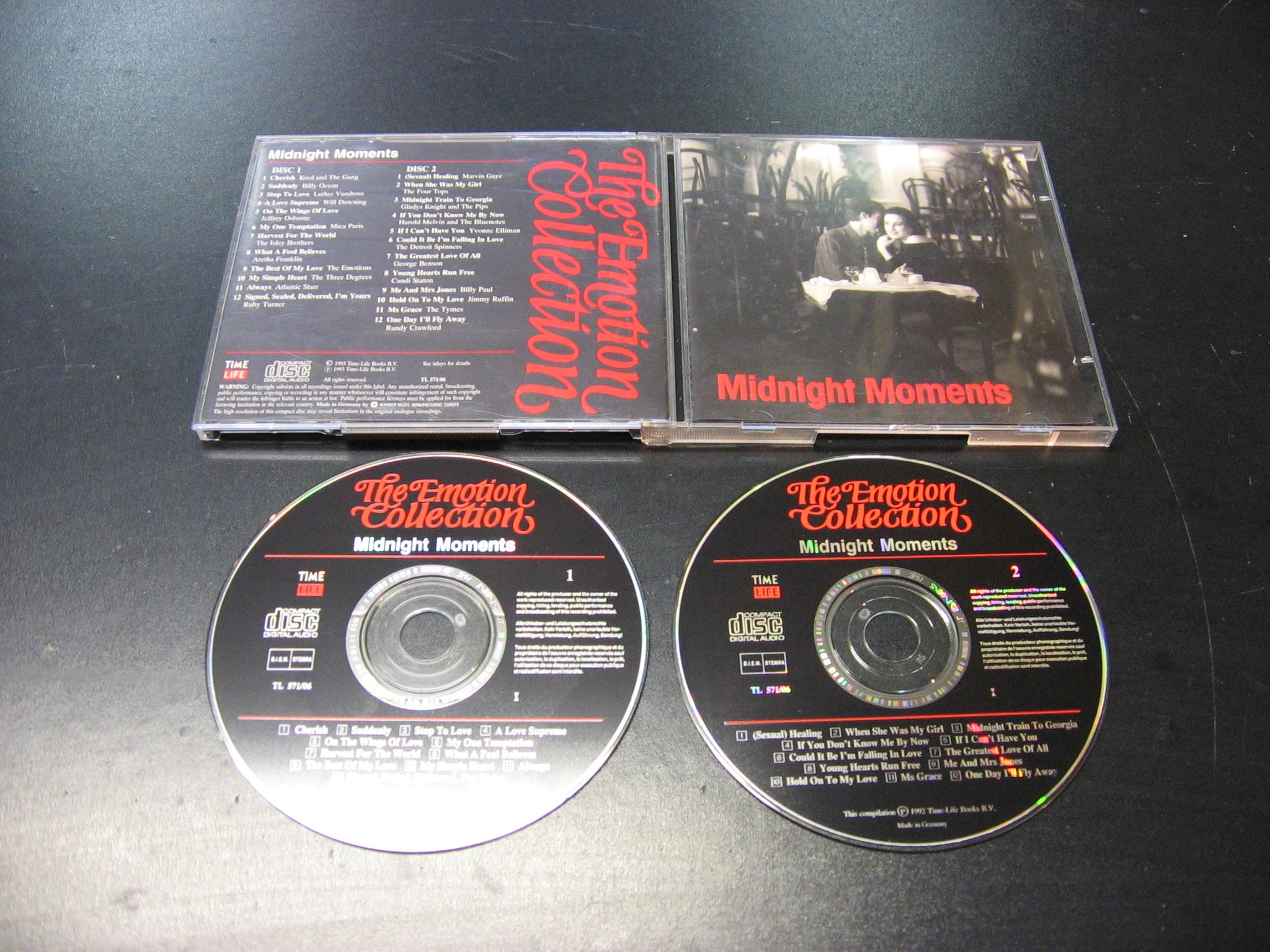 MIDNIGHT MOMENTS - 2 CD - THE EMOTION COLLECTION - Opole - AlleOpole.pl