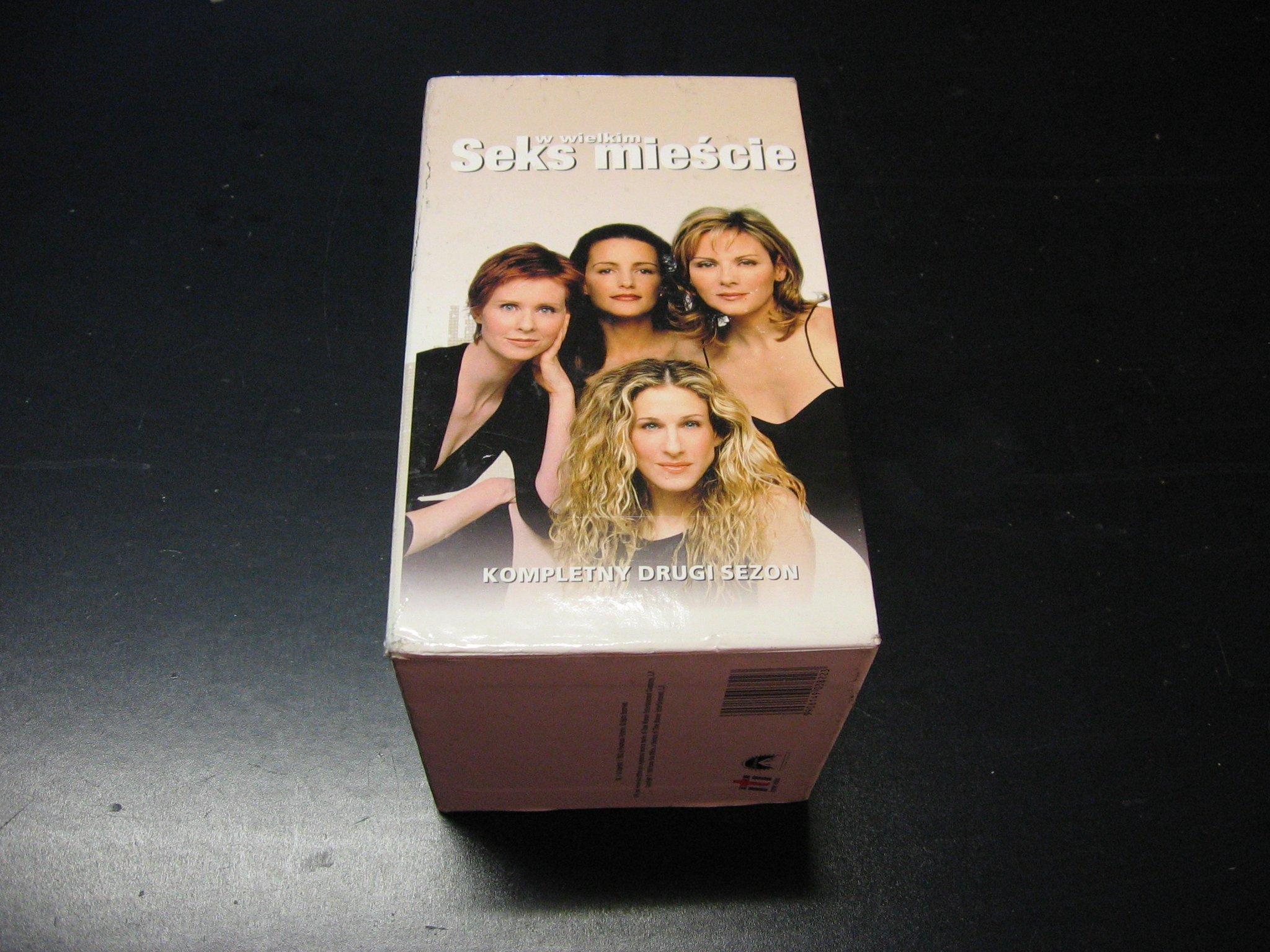 SEKS W WIELKIM MIEŚCIE - kompletny drugi sezon 1 - 18  kaseta VHS - 0867 Opole - AlleOpole.pl