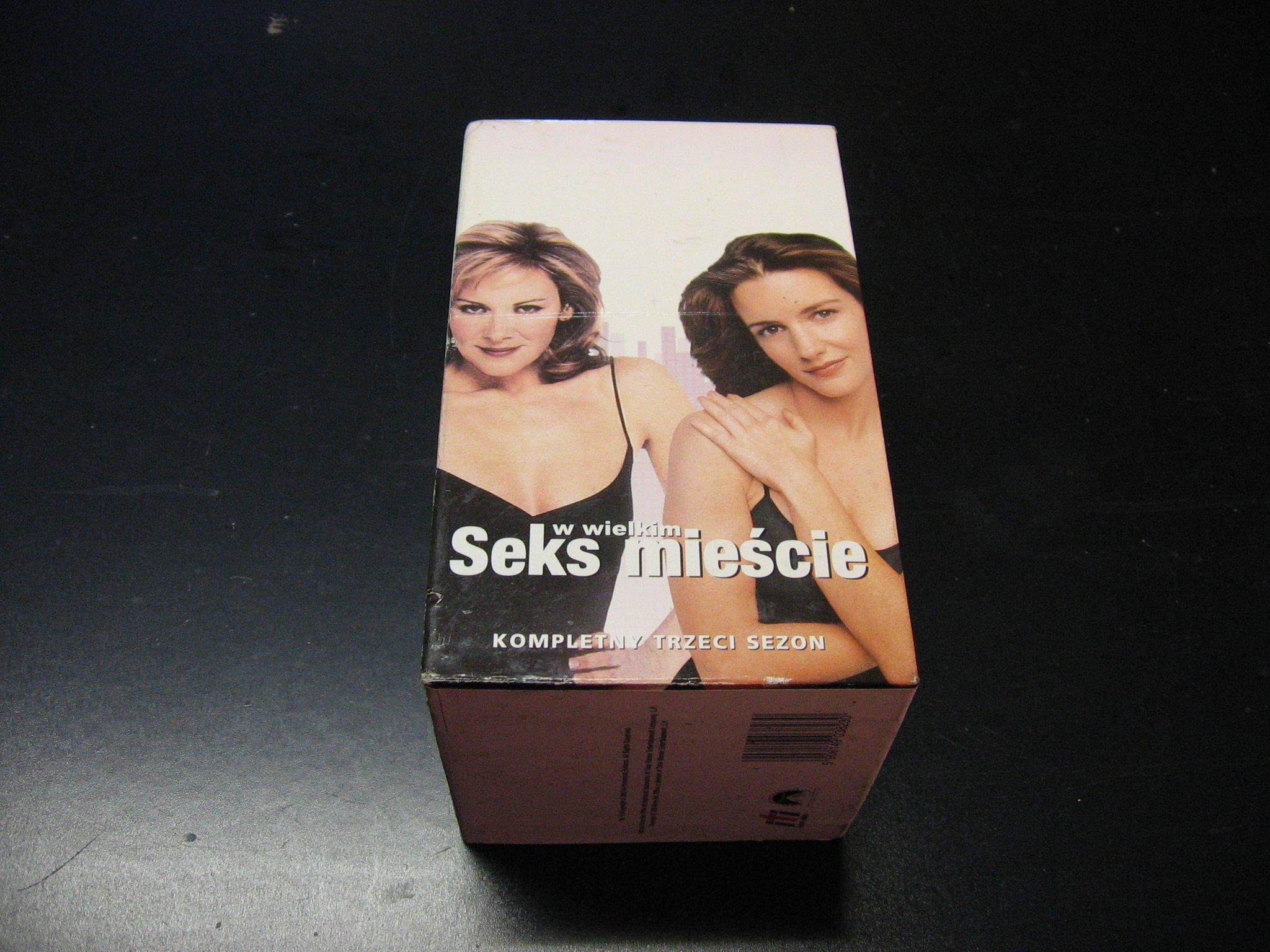 SEKS W WIELKIM MIEŚCIE - kompletny trzeci sezon 1 - 18  kaseta VHS - 0868 Opole - AlleOpole.pl