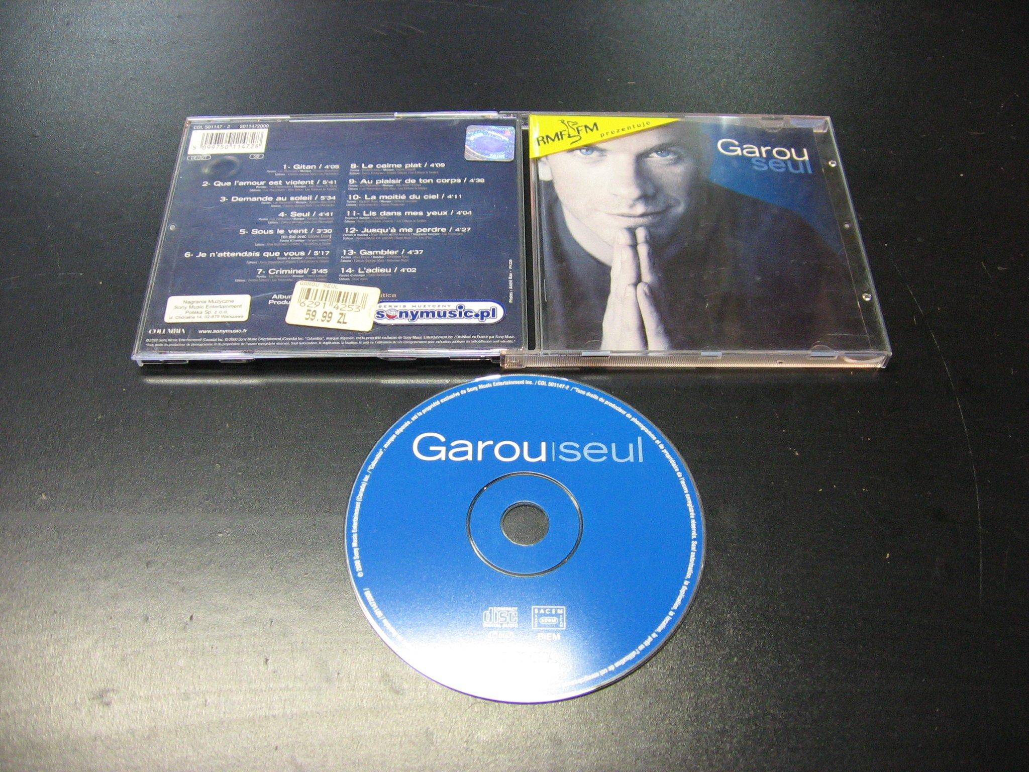 GAROU - SEUL CD FRANCUSKA MUZYKA  - Opole - AlleOpole.pl