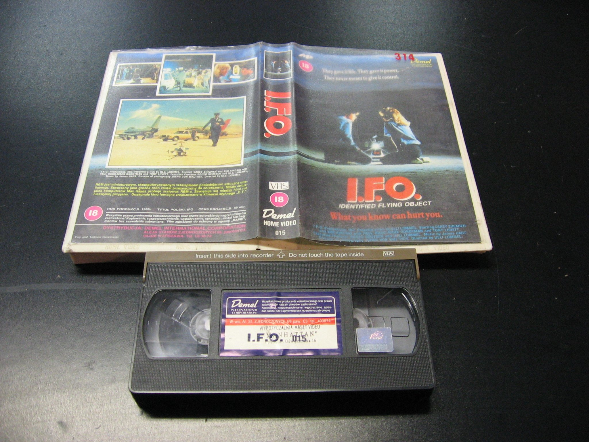 I.F.O. -  kaseta VHS - 0914 Opole - AlleOpole.pl