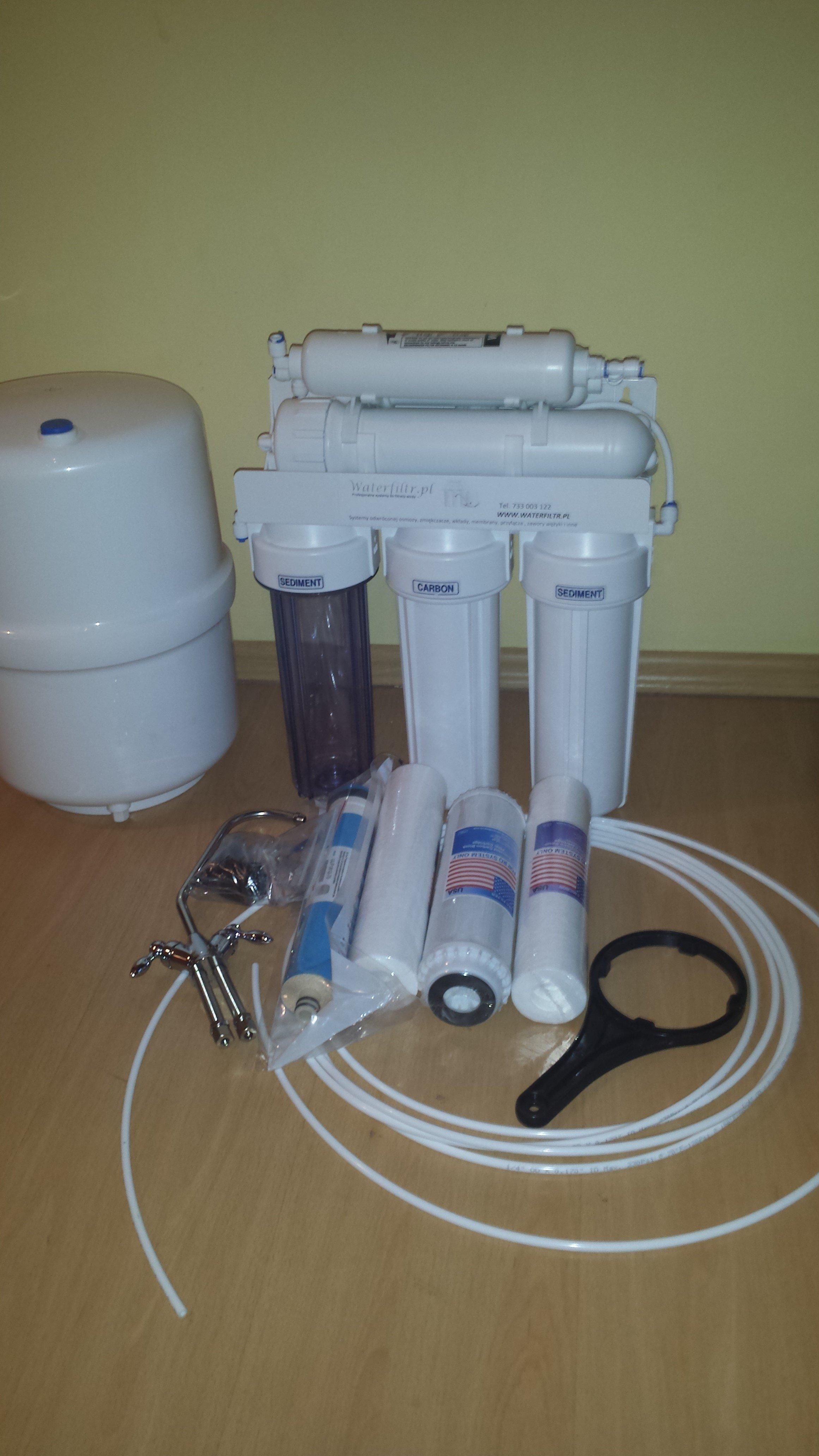 Filtr do wody odwrócona osmoza RO6 SKLEP FV PROMOCJA !!!