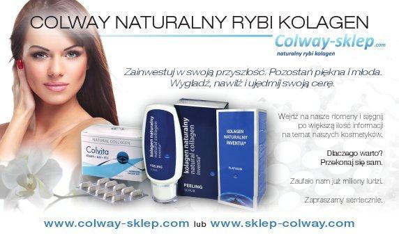 Dystrybucja kosmetyków z naturalnym kolagenem rybim firmy Colway