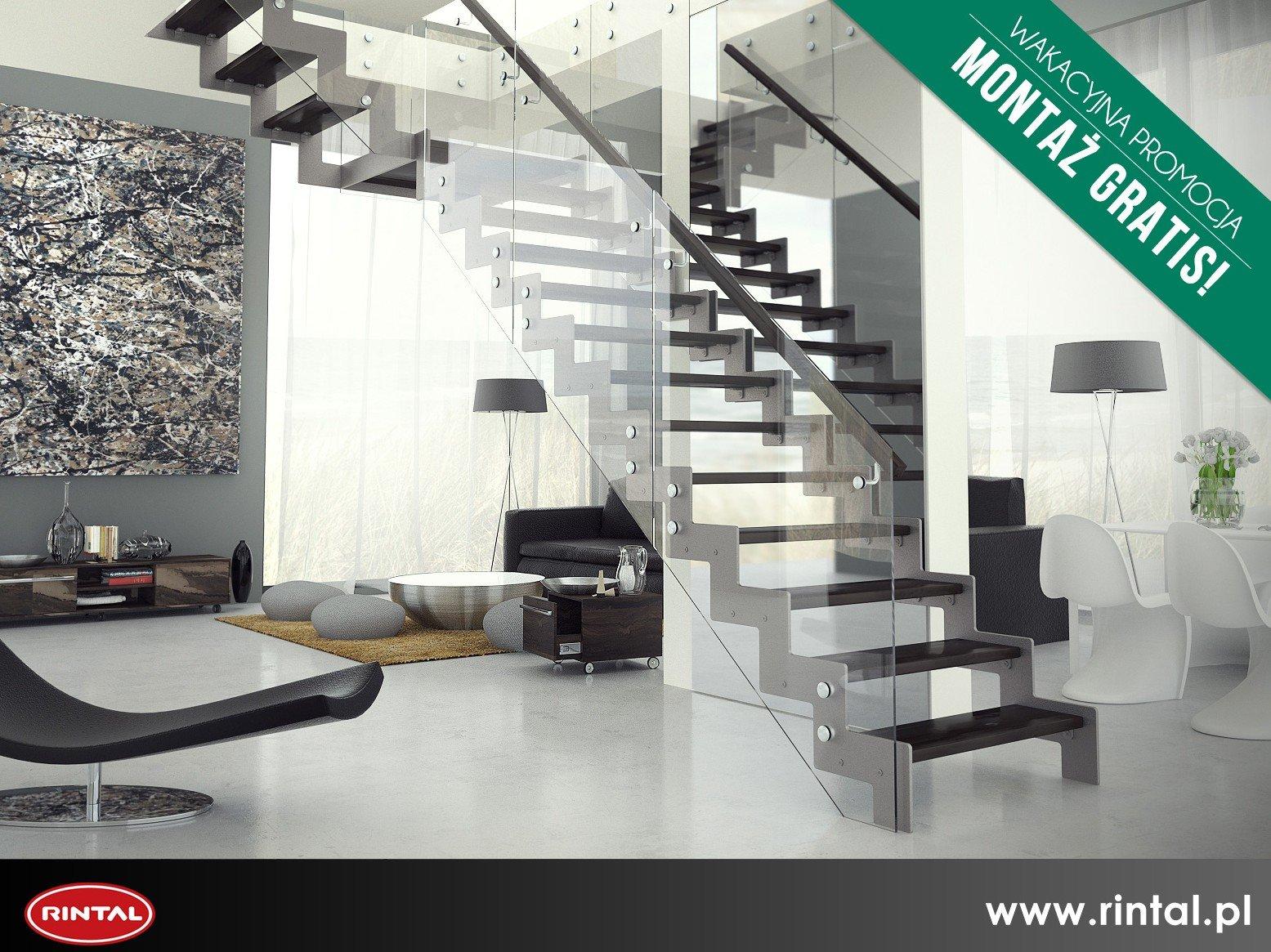 Schody Rintal – montaż schodów w lipcu za darmo!