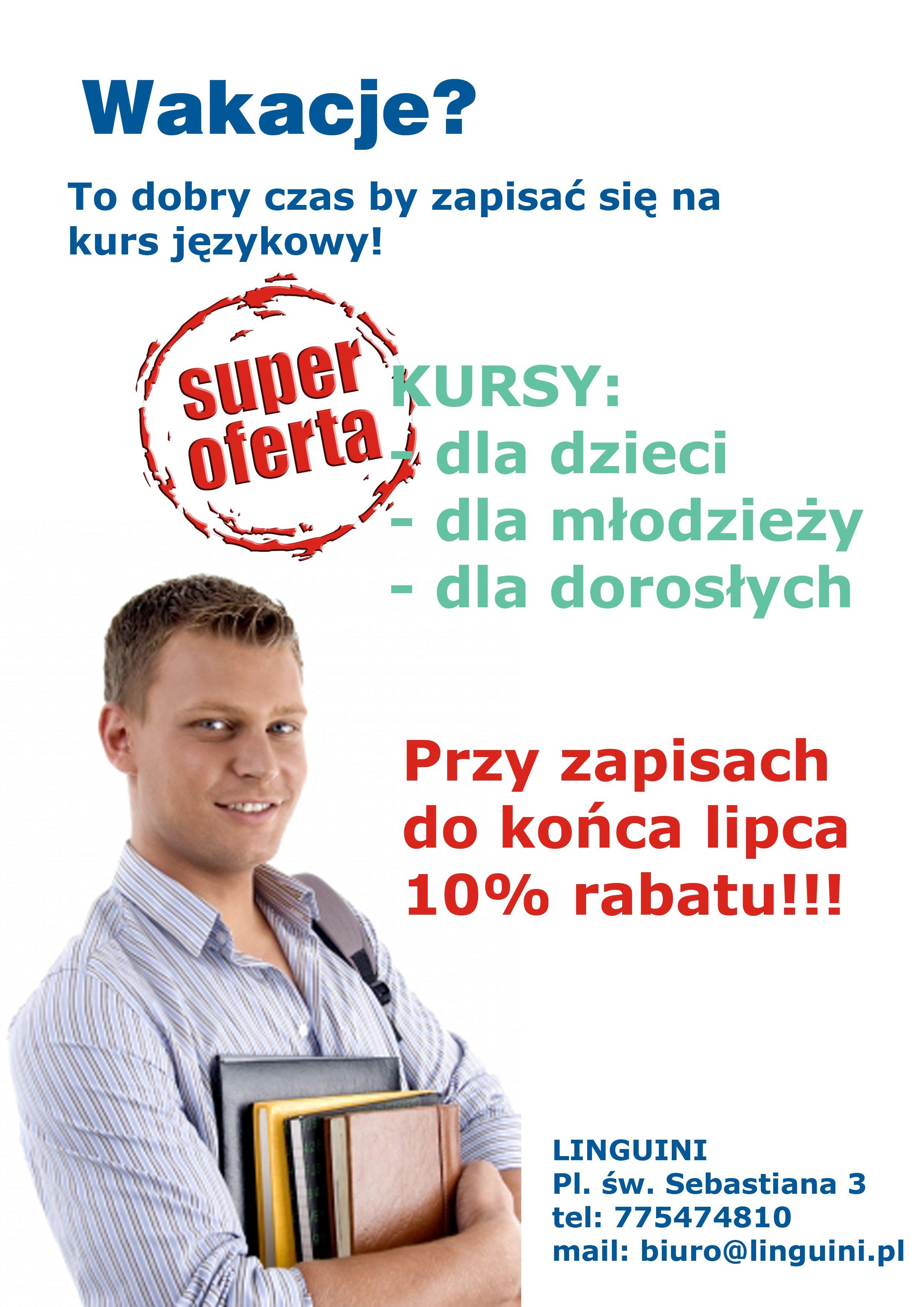 Gorąca oferta na kursy językowe!