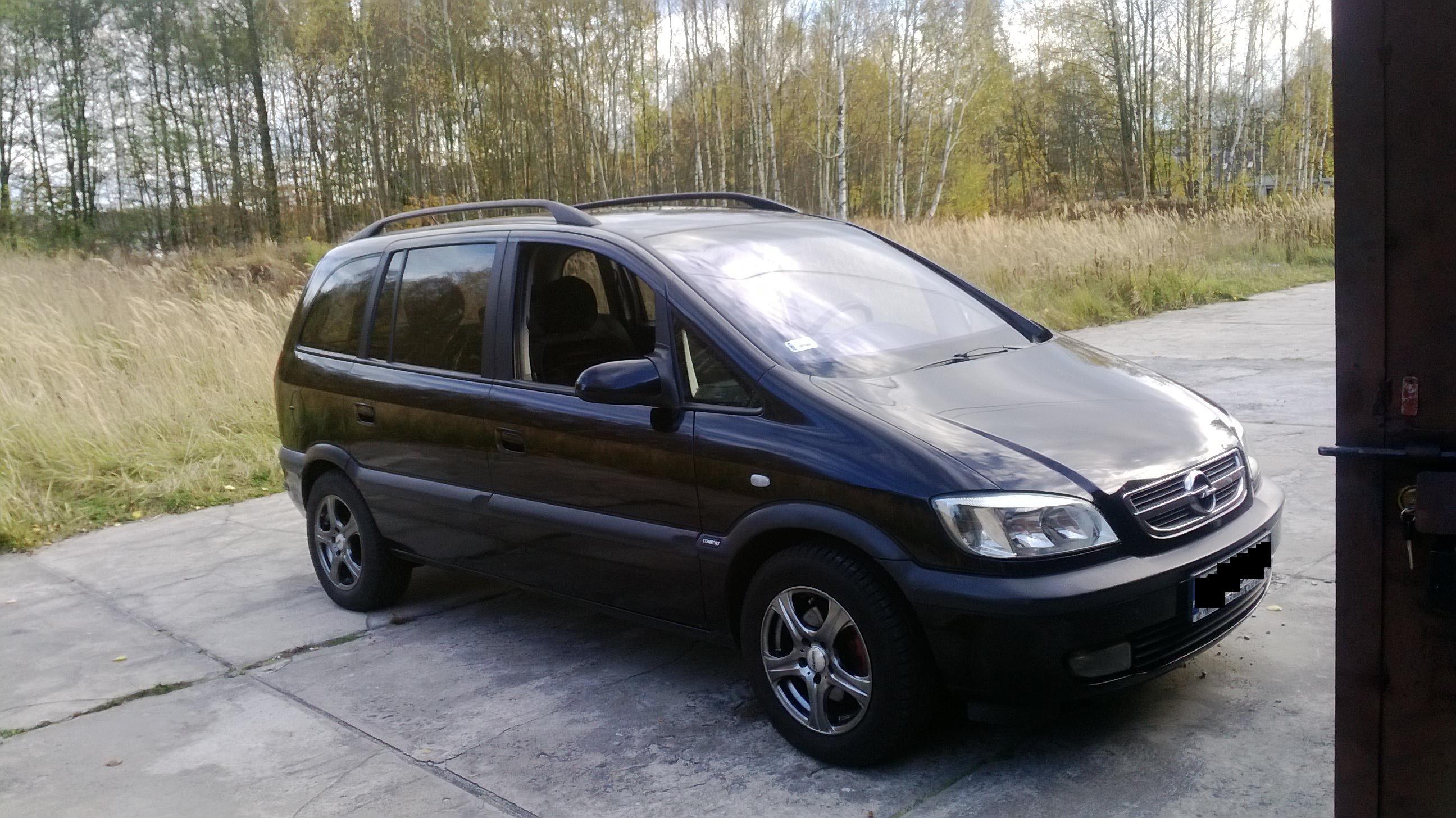 Sprzedam Opel Zafira 2,0 DTi