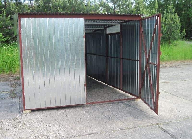 Garaż blaszany 3 x 4