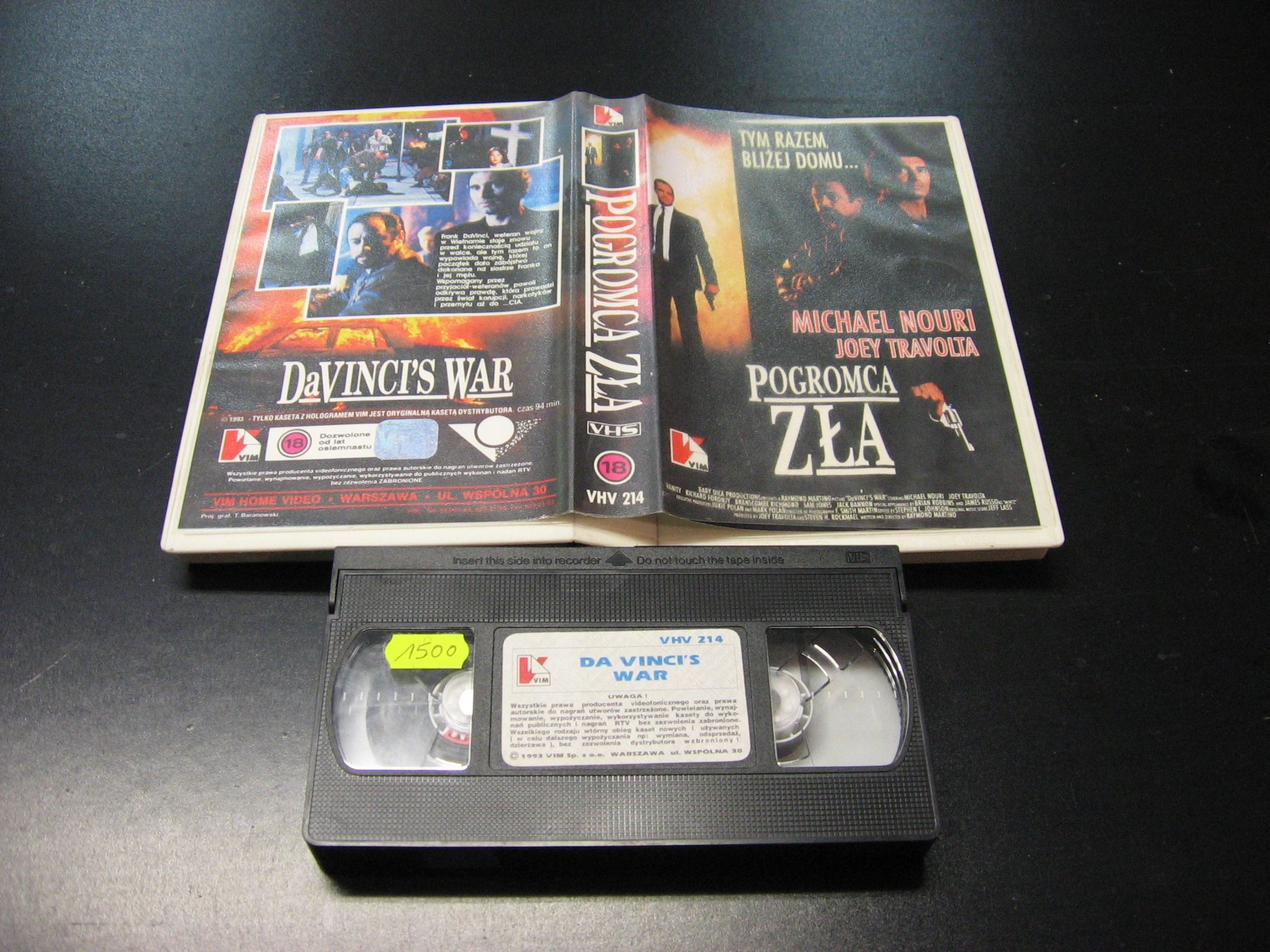 POGROMCA ZŁA -  kaseta VHS - 0991 Opole - AlleOpole.pl