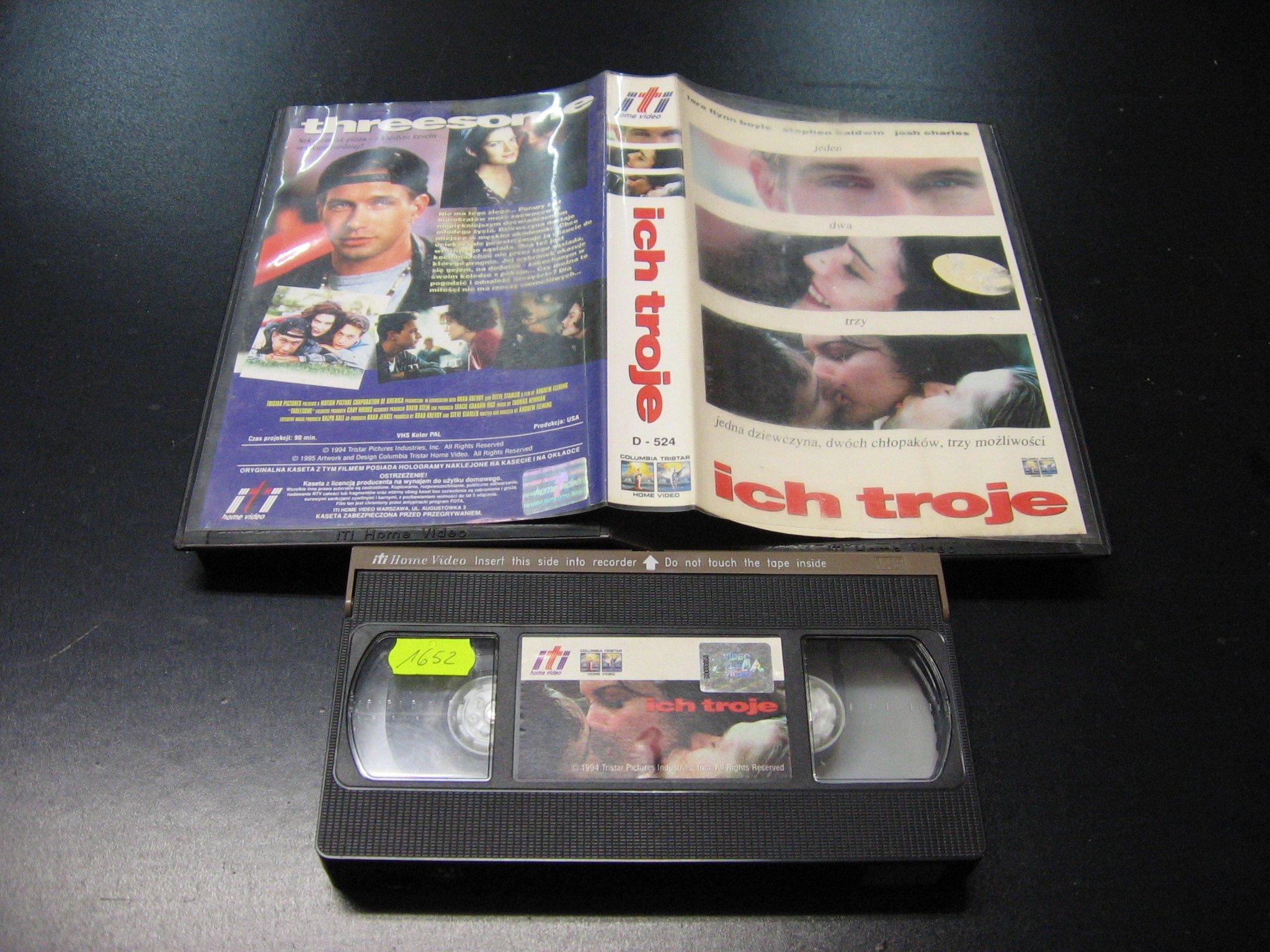 ICH TROJE -  kaseta VHS - 0993 Opole - AlleOpole.pl