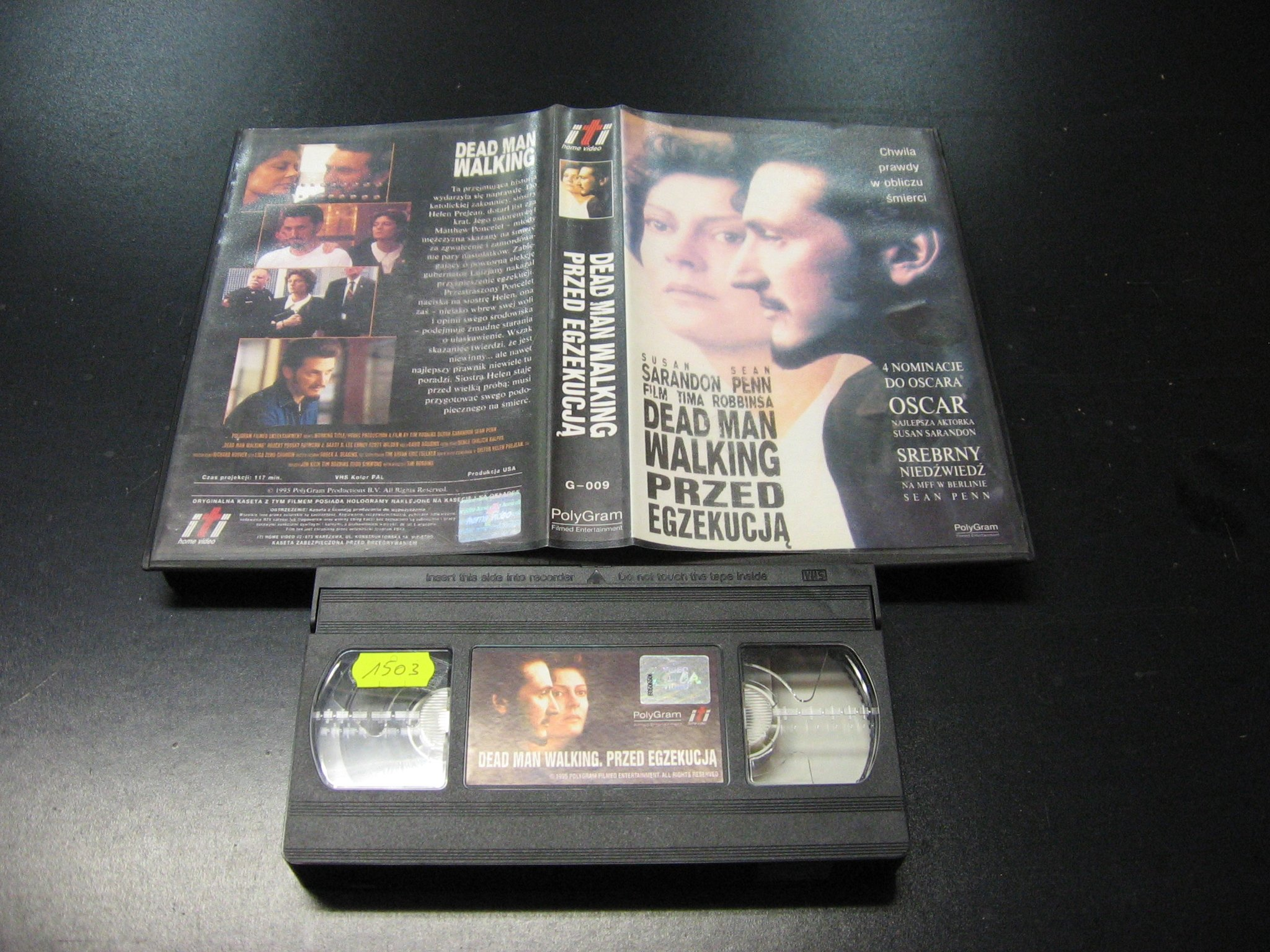 PRZED EGZEKUCJĄ -  kaseta VHS - 0995 Opole - AlleOpole.pl