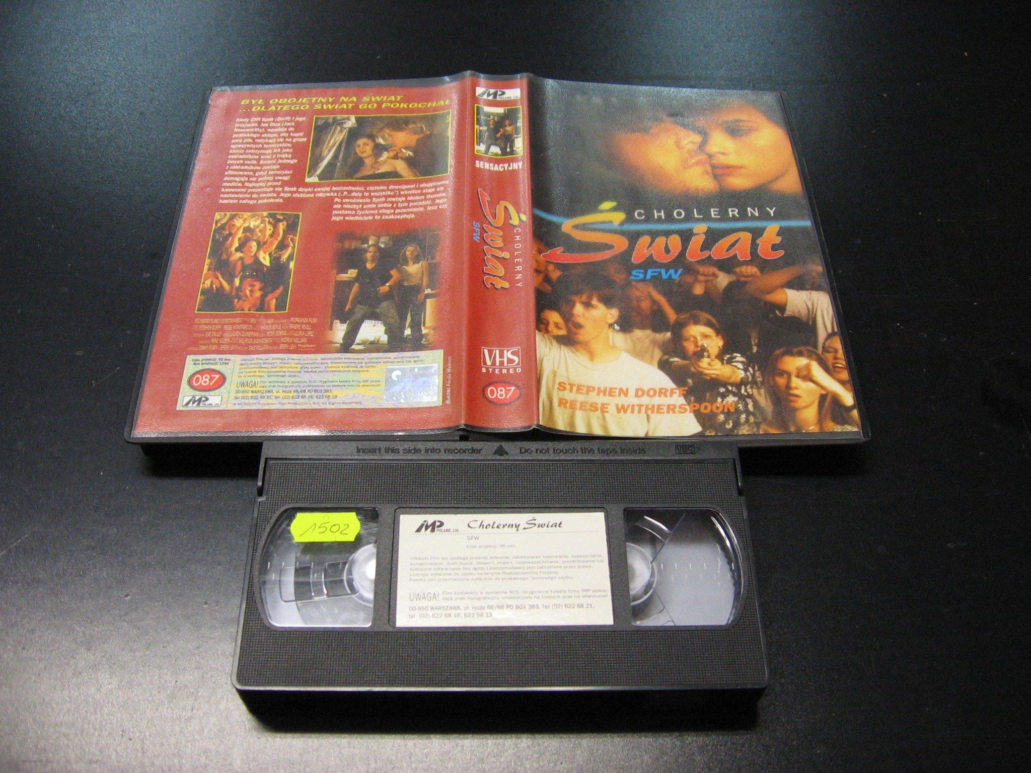 CHOLERNY ŚWIAT SFW -  kaseta VHS - 0996 Opole - AlleOpole.pl