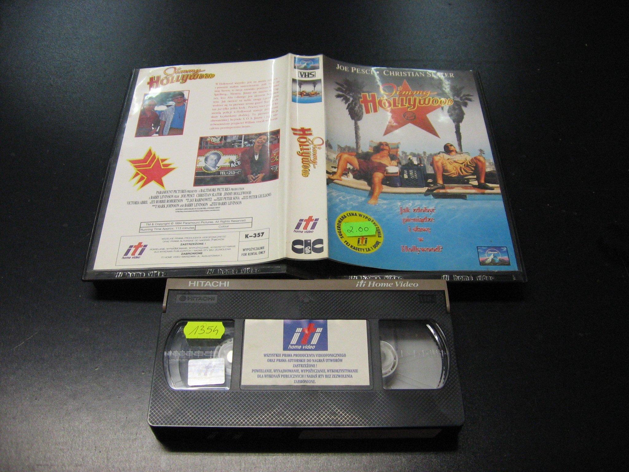 JIMMY HOLLYWOOD -  kaseta VHS - 0997 Opole - AlleOpole.pl