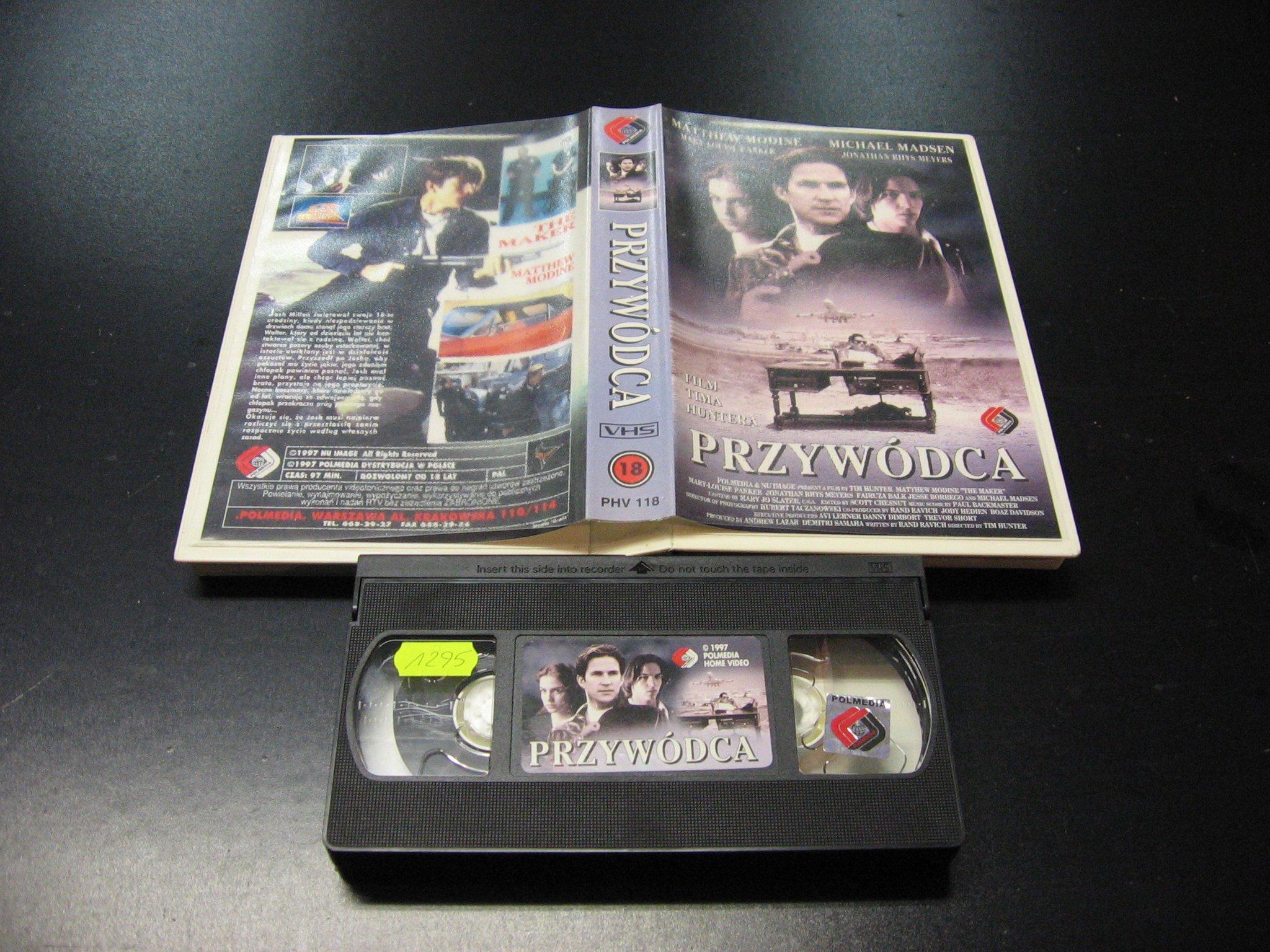 PRZYWÓDCA -  kaseta VHS - 1000 Opole - AlleOpole.pl