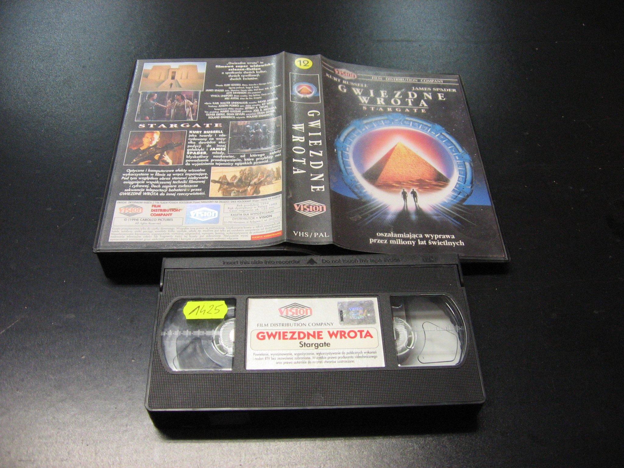 GWIEZDNE WROTA -  kaseta VHS - 1019 Opole - AlleOpole.pl