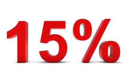 15% podatku od  2017 r.