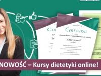 Kursy dietetyki – szkolenie przez internet