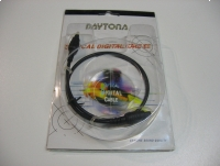Kabel optyczny Toslink 4mm 0,5m - Opole