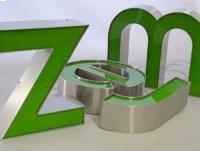 LITERY blokowe 3D podświetlane LED ŚWIETLNE 30 cm