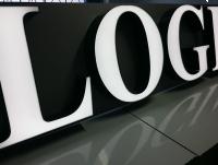 LITERY blokowe 3D podświetlane LED ŚWIETLNE 50 cm