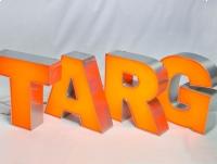 LITERY blokowe 3D podświetlane LED ŚWIETLNE 70 cm