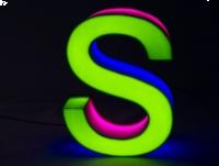 Świetlne LITERY 3D LED jak neony 70 cm PRODUCENT