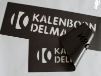 SZABLONY malarskie folia MAGNETYCZNA litery AZ 5cm