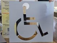 SZABLON P-24 do malowania INWALIDA Niepełnosprawny