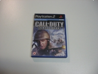 Call of duty finest hour - GRA Ps2 - Opole 0711