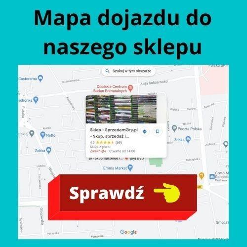 Mapa dojazdu do naszego sklepu