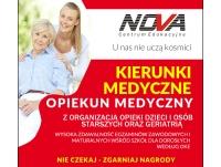 Zawód OPIEKUNA MEDYCZNEGO i dodatkowe certyfikaty zdobędziesz w Medycznej Szkole NOVA