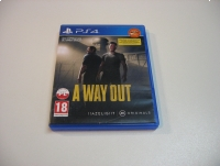 A Way Out - GRA Ps4 - Opole 0817