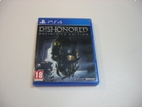 Dishonored Definitive Edition - GRA Ps4 - Opole 0834