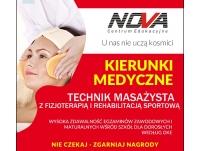 II semestr Technik Masażysta z fizjoterapią w NOVA czeka na Ciebie!