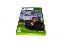 FARMING SYMULATOR FARMY XBOX 360 TRAKTORY POPOLSKU