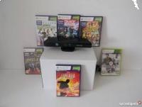 Sensor Kontroler Kinect Xbox 360 + 6 Gier + 2 Lata Gwarancji