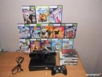 SUPER ZESTAW ! Xbox 360 slim + Kinect + Gry + Gwarancja !
