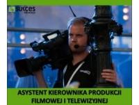Asystent kierownika produkcji filmowej i telewizyjnej – Darmowy kierunek!