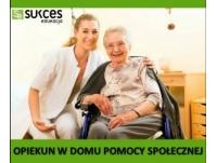 Opiekun w Domu Pomocy Społecznej – Darmowy kierunek!