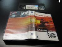 ZASADY WALKI - WESLEY SNIPES - VHS - Opole 0115