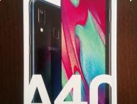 Samsung Galaxy A40 czarny - Nowy