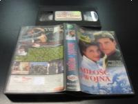 MIŁOŚĆ I WOJNA - SANDRA BULLOCK - VHS Kaseta Video - Opole 0474