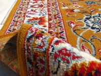 Dywan w stylu perskim, świeżo wyczyszczony, 150 x 250 cm