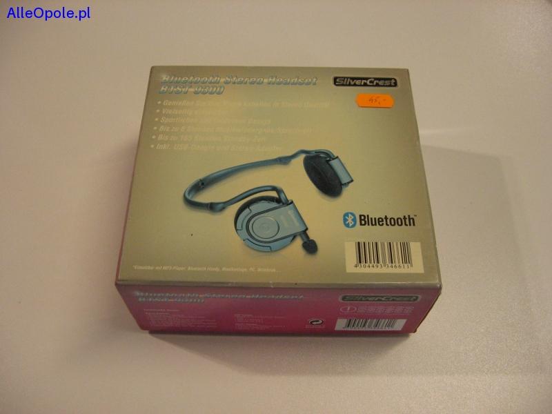 SilverCrest bluetooth BTST 9300 Bezprzewodowe słuchawki +