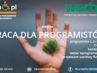 Programista Java - praca stacjonarna dla osoby z niepełnosprawnością w Gdyni