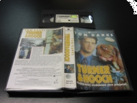 TURNER & HOOCH - TOM HANKS - VHS Kaseta Video - Opole 0499