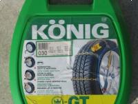 """Nowe łańcuchy śniegowe König GT 030  12mm na koła 12"""" - 14"""""""