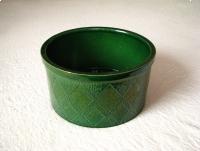 Stylowa, ceramiczna donica / podstawka / misa pod stojak na choinkę