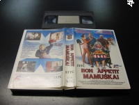 BON APPETIT MAMUŚKA - VHS Kaseta Video - Opole 0674