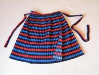 Spódnica plisowana, wiązana jak fartuszek uniwersalny rozmiar XS - XL