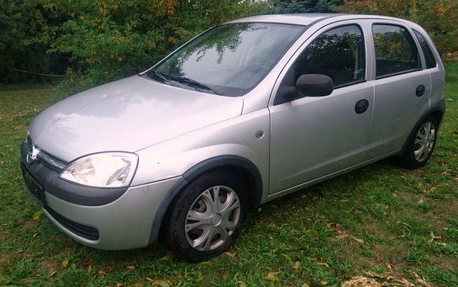 Opel Corsa C 1.2 2002r. klima. 5d. bezwypadkowy